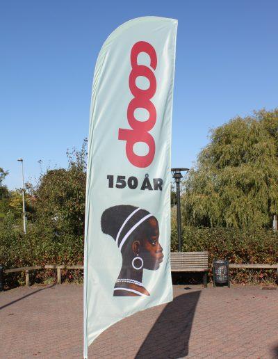 Beachflag Coop 150 år